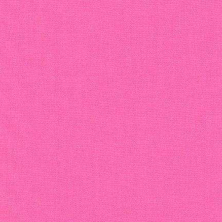 1/2m - Kona Cotton Solids - Sassy Pink