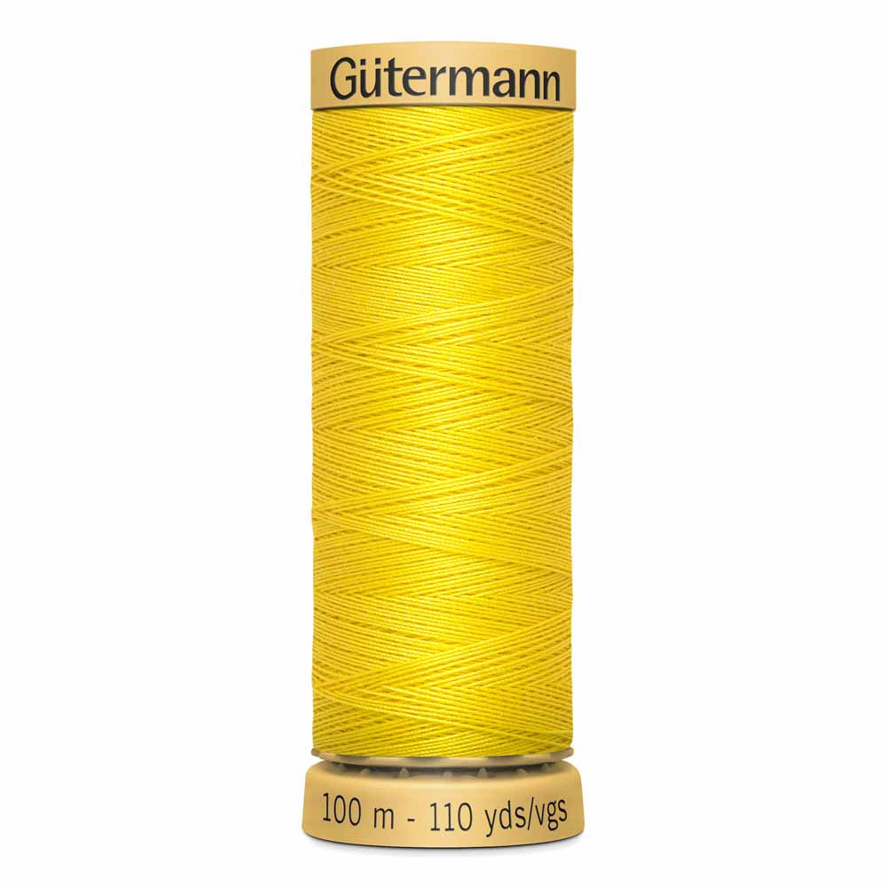 Gütermann Cotton Thread - 100m - #1620 Bright Yellow