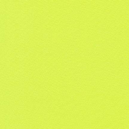 1/2m - Kona Cotton Solids - Key Lime