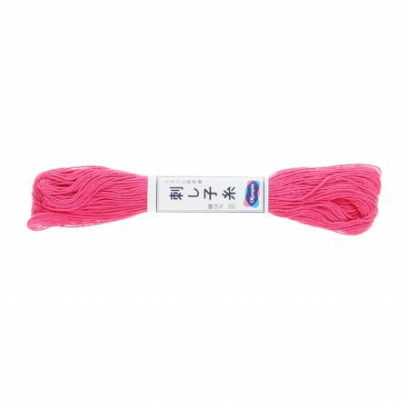 Sashiko Thread - 20m - 21 - Hot Pink