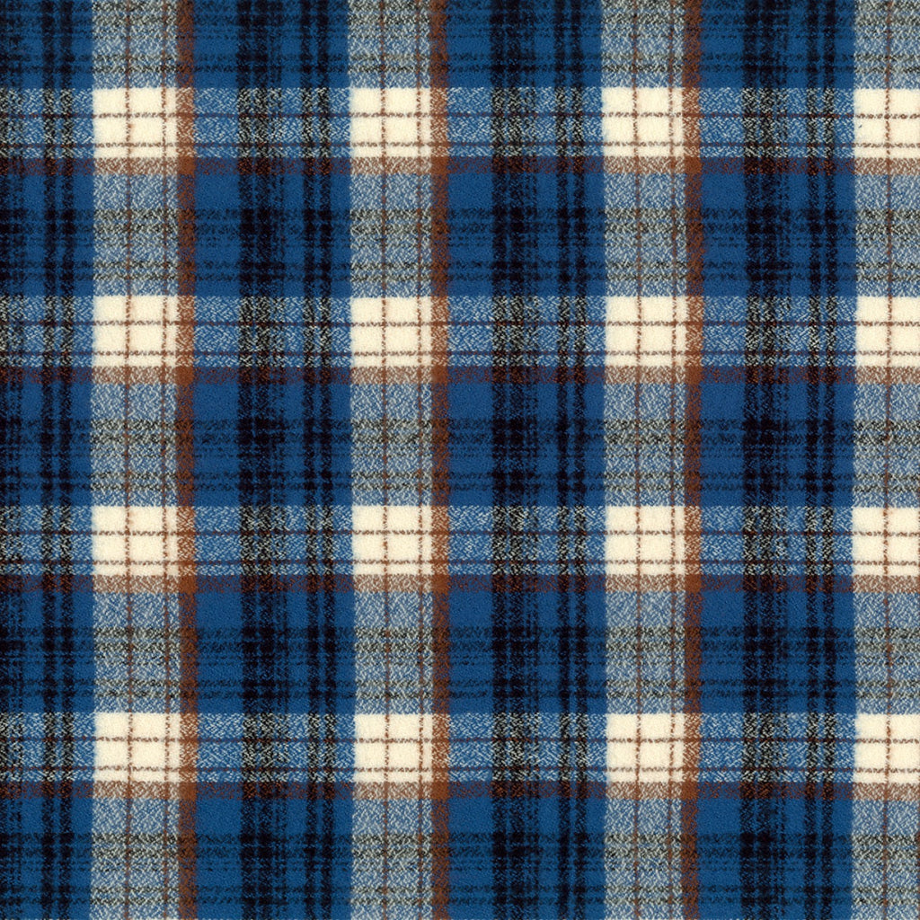 1/2m Mammoth Flannel - Plaid - Blue