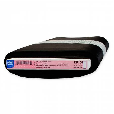 1/2m Pellon Easy-Knit Fusible Interfacing - EK130B - Black