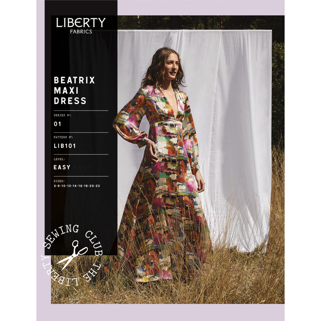 Liberty Fabrics - Beatrix Maxi Dress