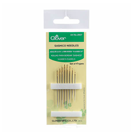 Clover Sashiko Needles 8 Count