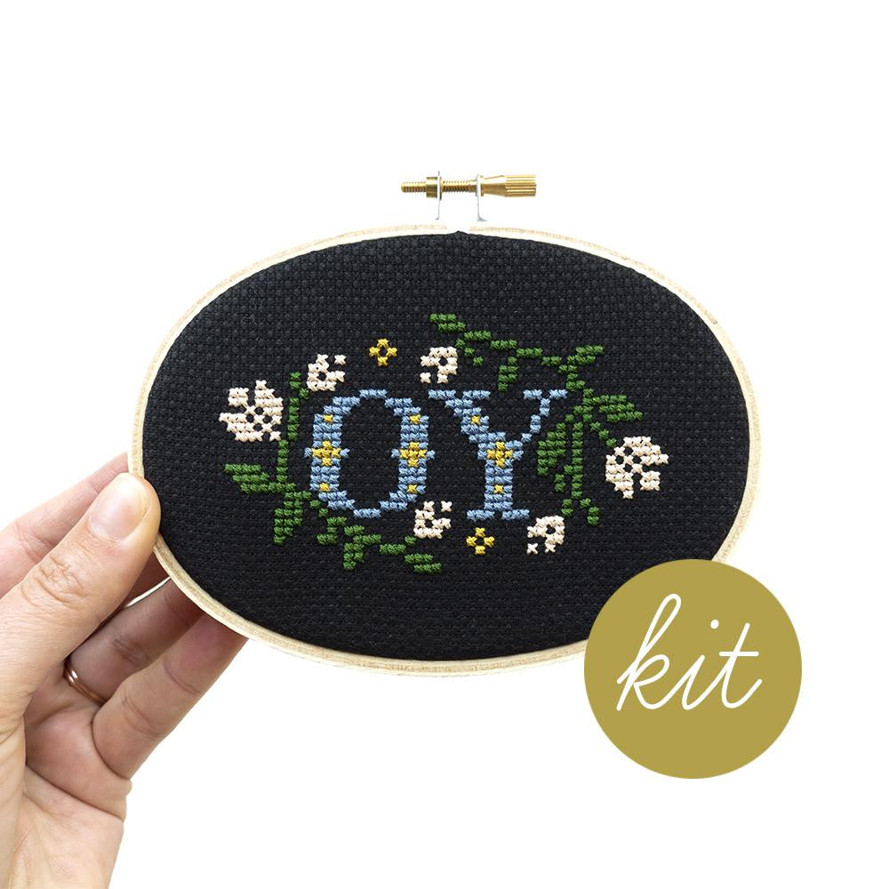 Junebug and Darlin - OY Cross Stitch Kit