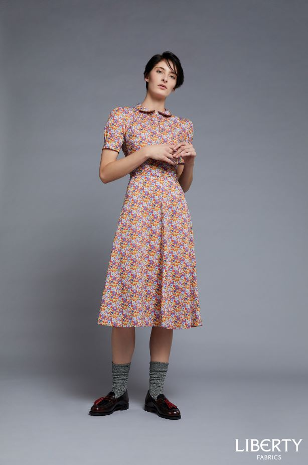 Liberty Fabrics - Bella Tea Dress