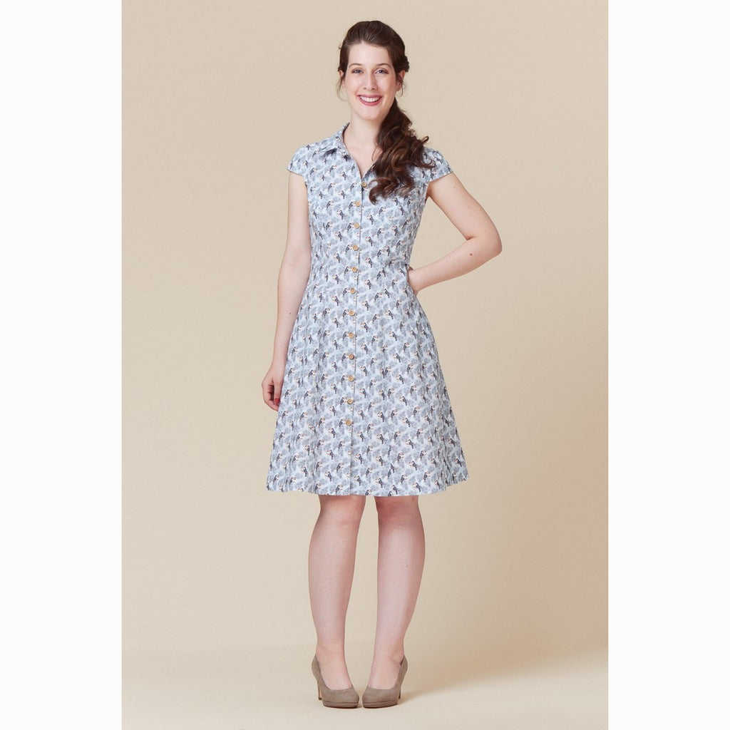 Deer and Doe - Bleuet Shirtdress