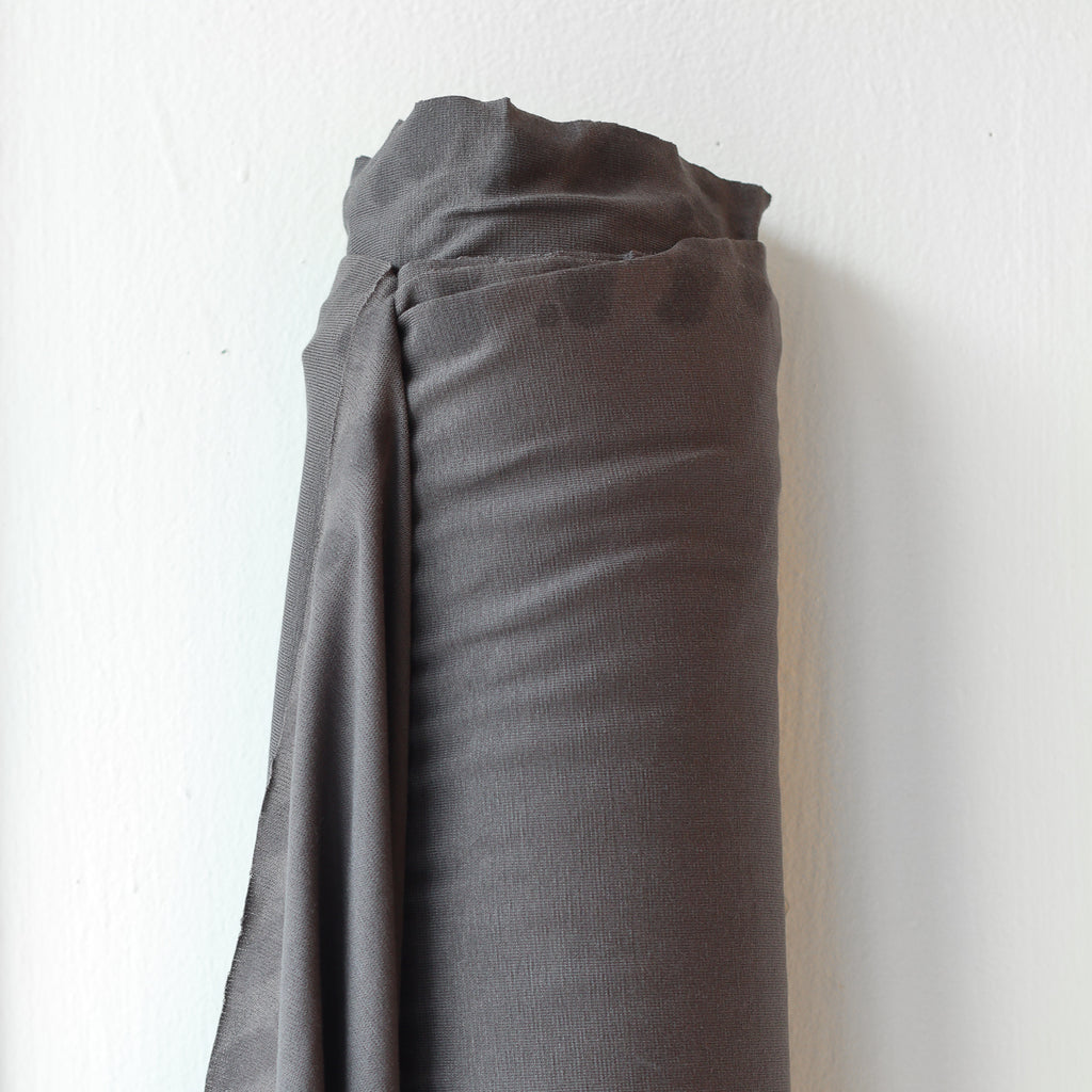 1/2m Ecovero-Spandex Jersey - Charcoal