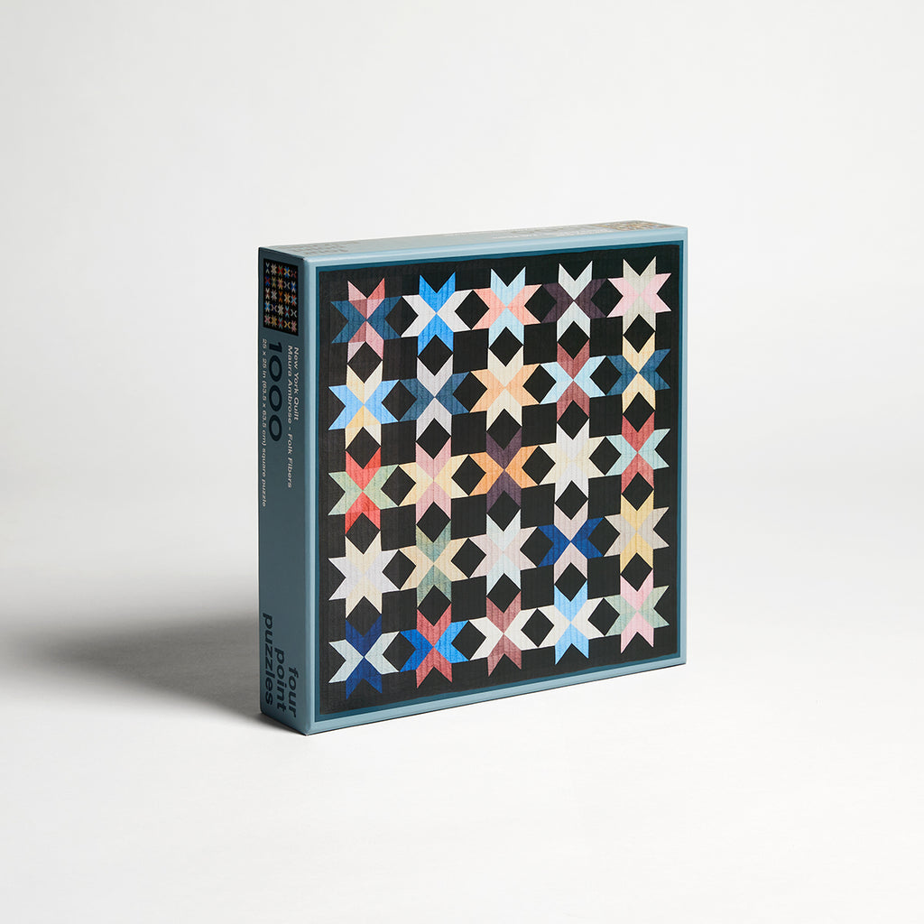 Four Point Puzzles - New York Quilt