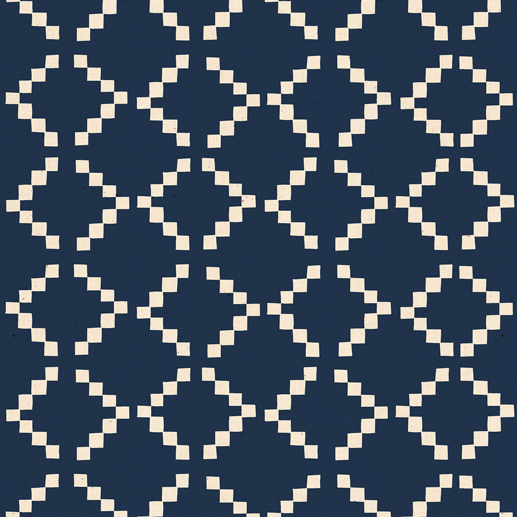 1/2m Ruby Star Society - Alexia Abegg - Golden Hour - Tile - Navy