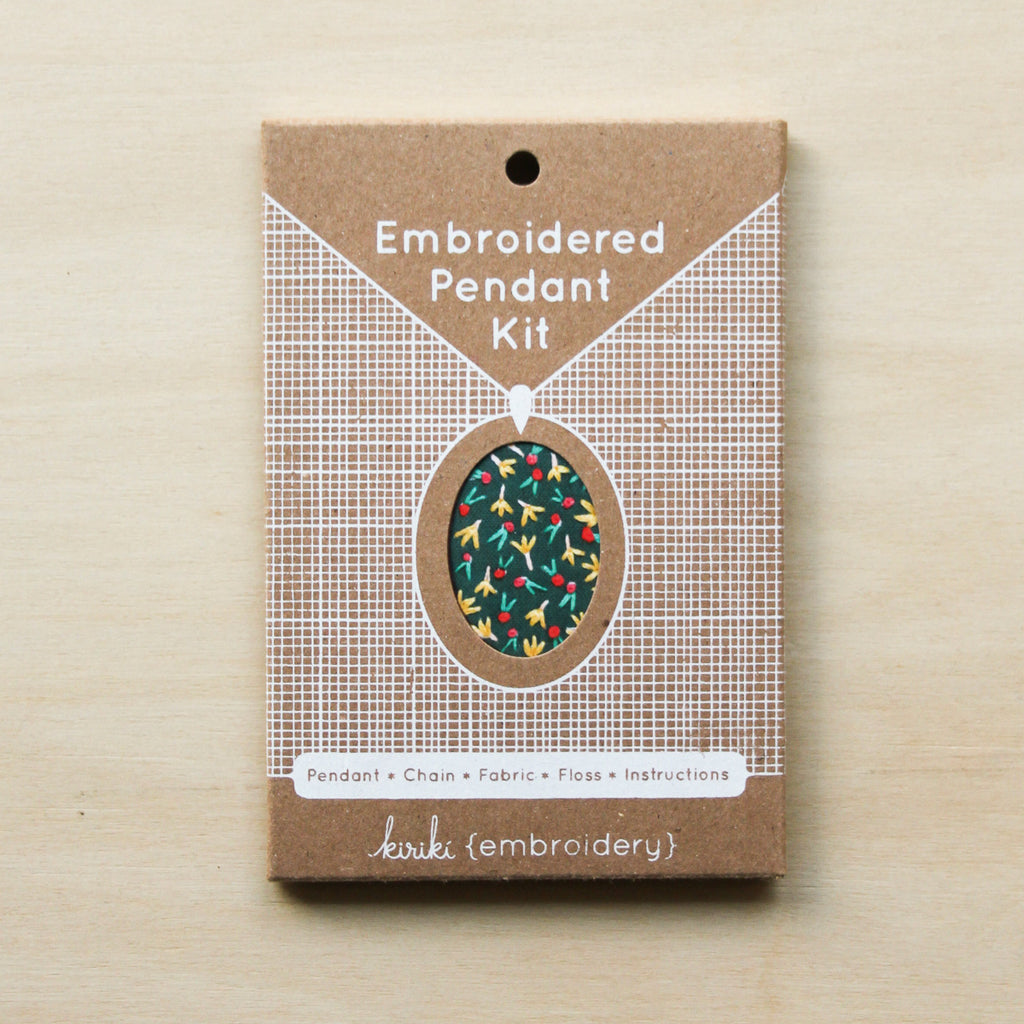 Kiriki Press - Pendant Kit - Fruity