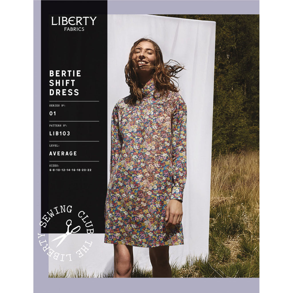 Liberty Fabrics - Bertie Shift Dress