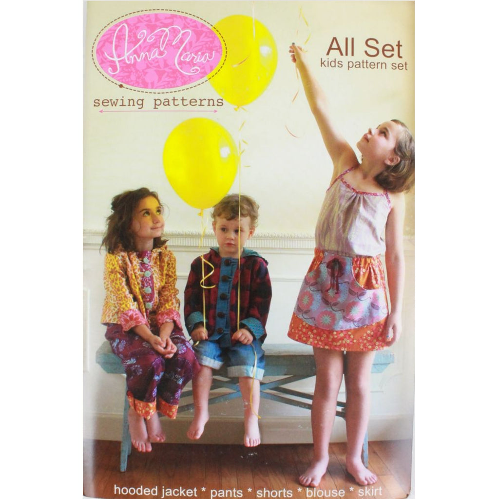Anna Maria - All Set Kids Pattern Set