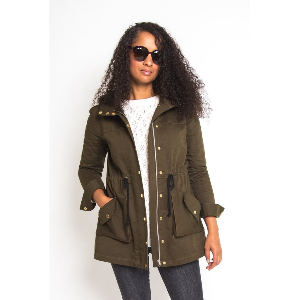 Closet Core Patterns - Kelly Anorak Jacket