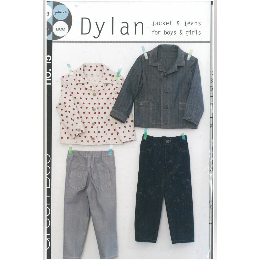 Green Bee Patterns - Dylan Jacket & Jeans - Boys & Girls - 12m - 6years