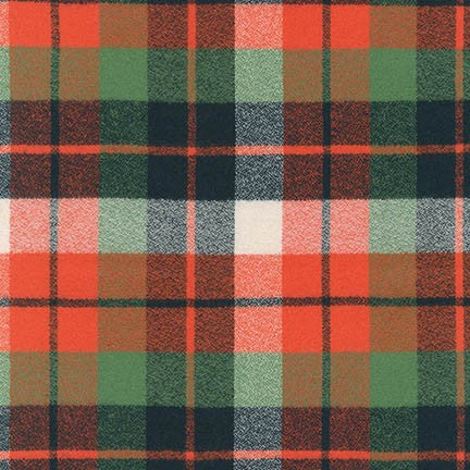 1/2m Robert Kaufman - Mammoth - Flannel - Adventure Tartan