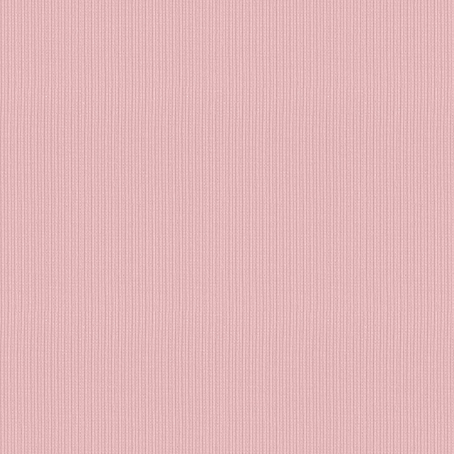 1/2m Stof - Rib Knit - Light Pink