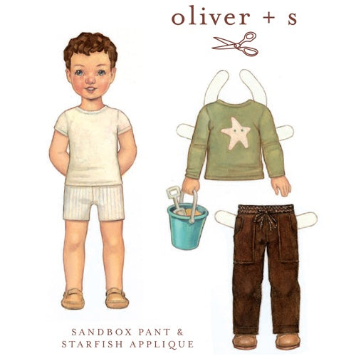 Oliver + S Lunchbox Sandbox Pants Pattern