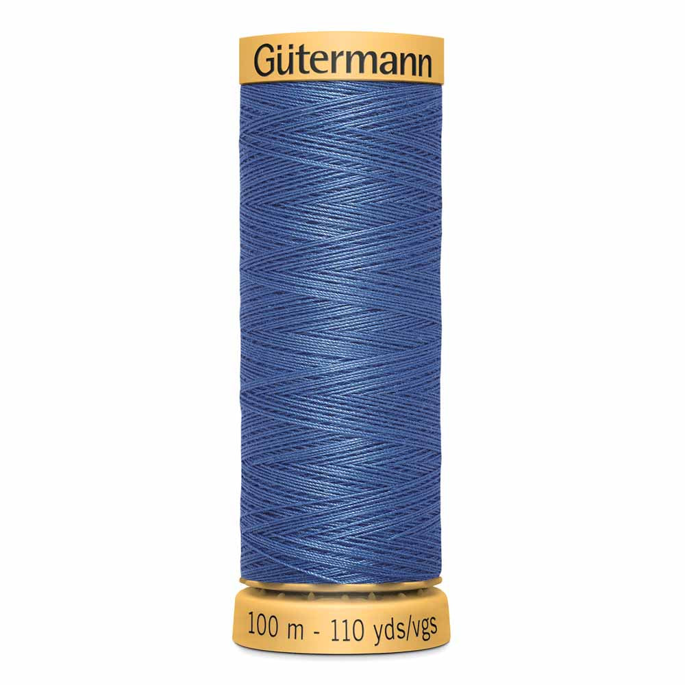 Gütermann Cotton Thread - 100m - #6800 Blue
