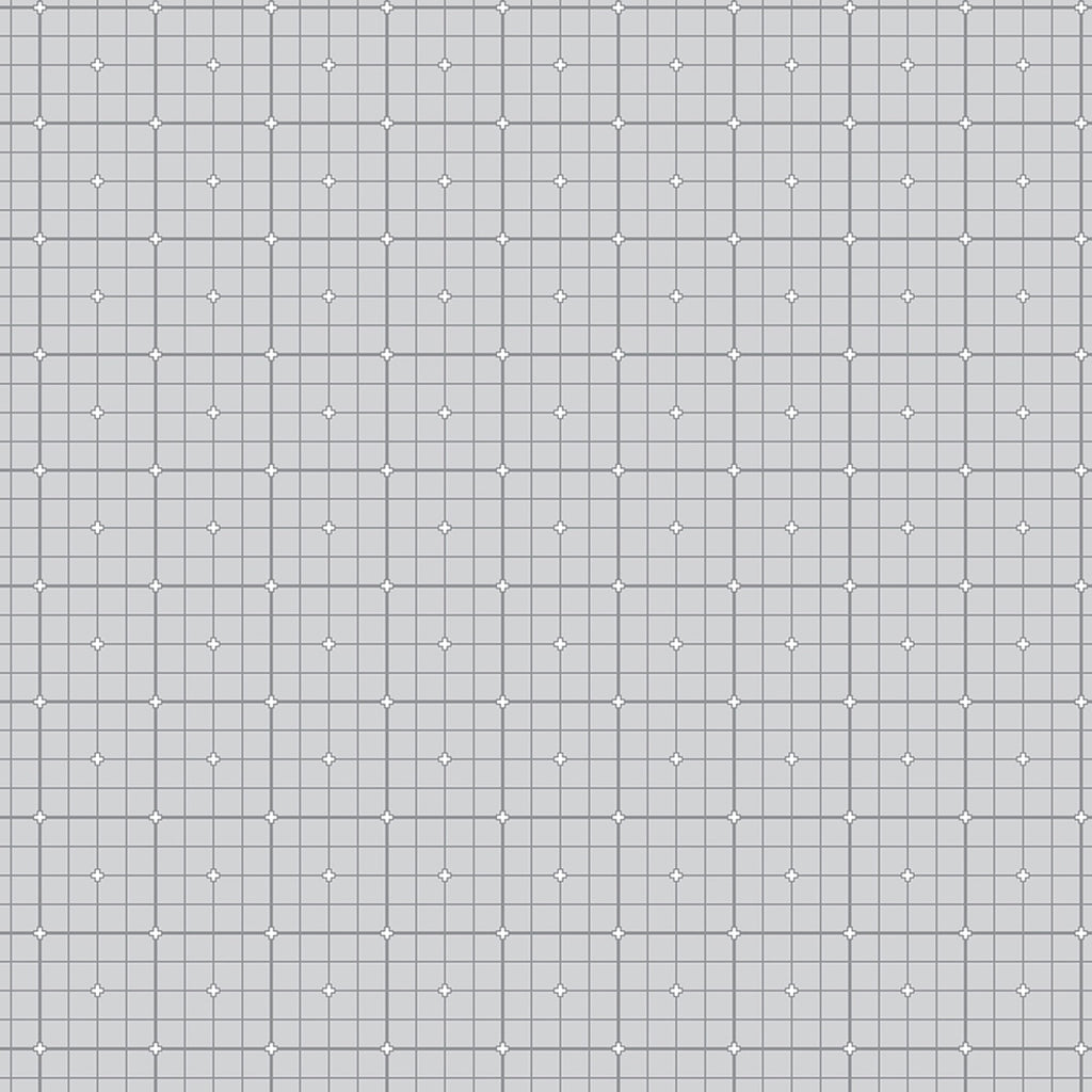 1/2m Ghazal Razavi - Serenity - Grid - Light Gray