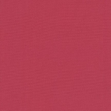 1/2m - Kona Cotton Solids - Deep Rose