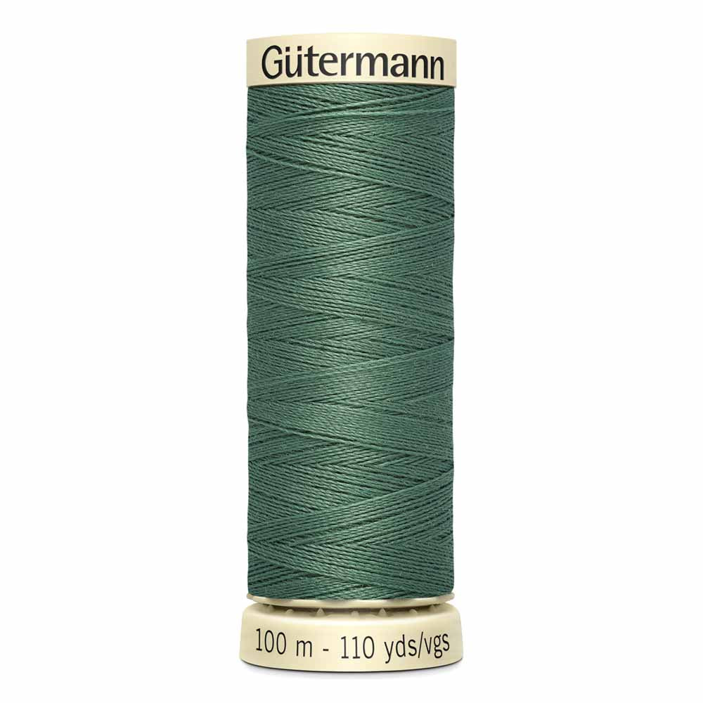 Gütermann Sew-All Thread - 100m - #646 Steel Green