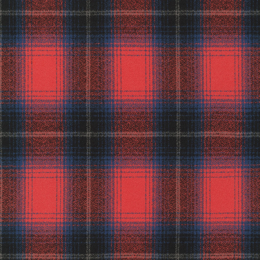 1/2m Mammoth Flannel - Plaid - Americana Red