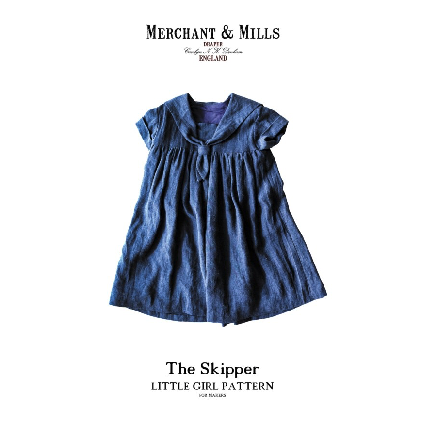 Merchant & Mills - The Skipper Little Girl Pattern