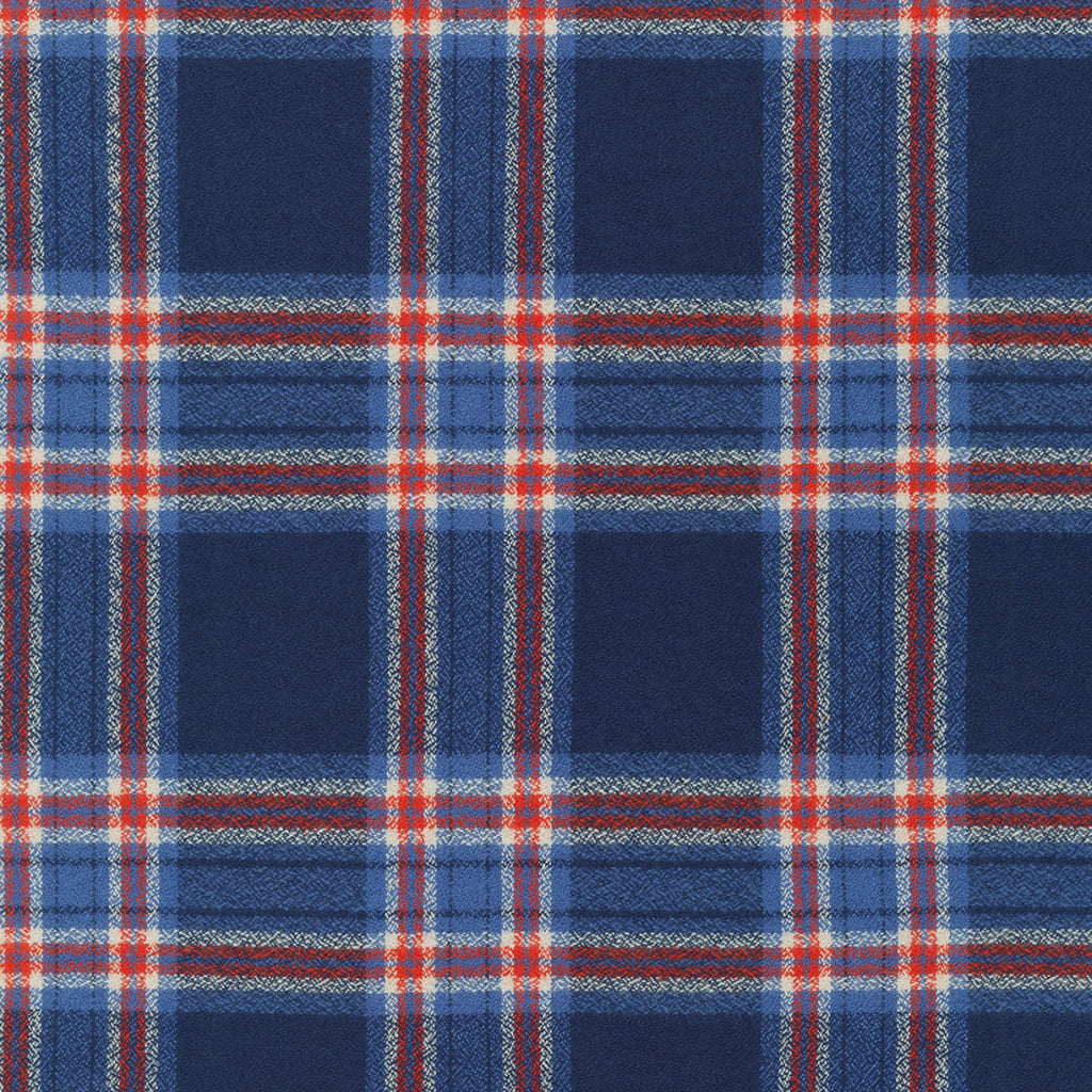 1/2m Mammoth Flannel - Plaid - Americana - Blue