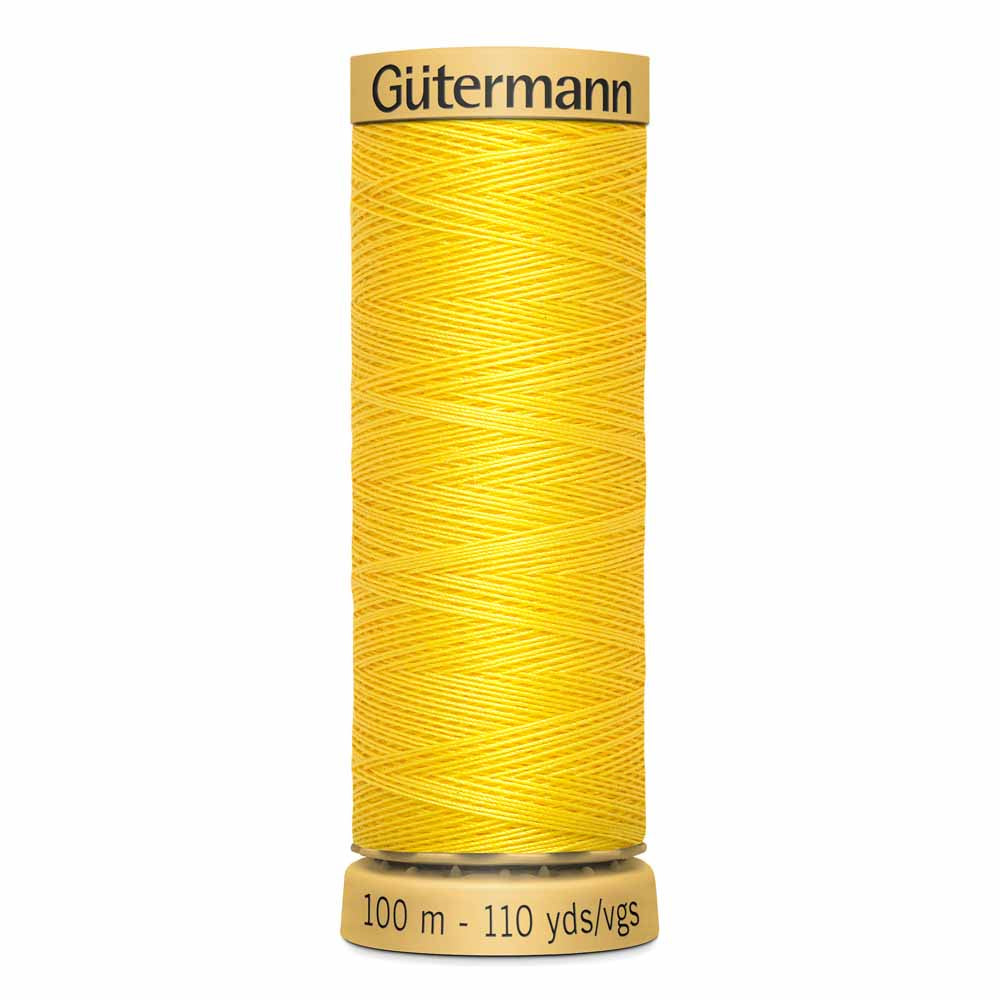 Gütermann Cotton Thread - 100m - #1640 Canary Yellow