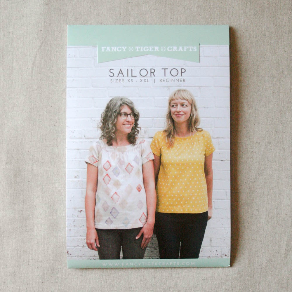 Fancy Tiger Crafts Sailor Top (Cordyline Top)