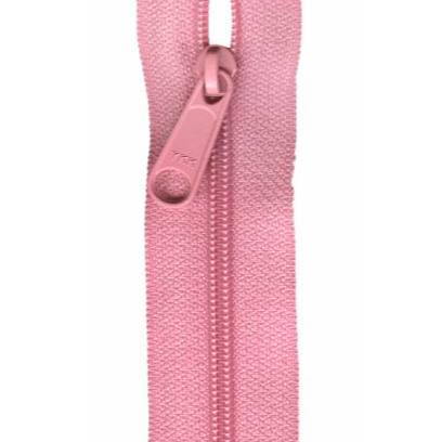 "YKK Ziplon Closed Bottom Zipper - 14"" - Pink"