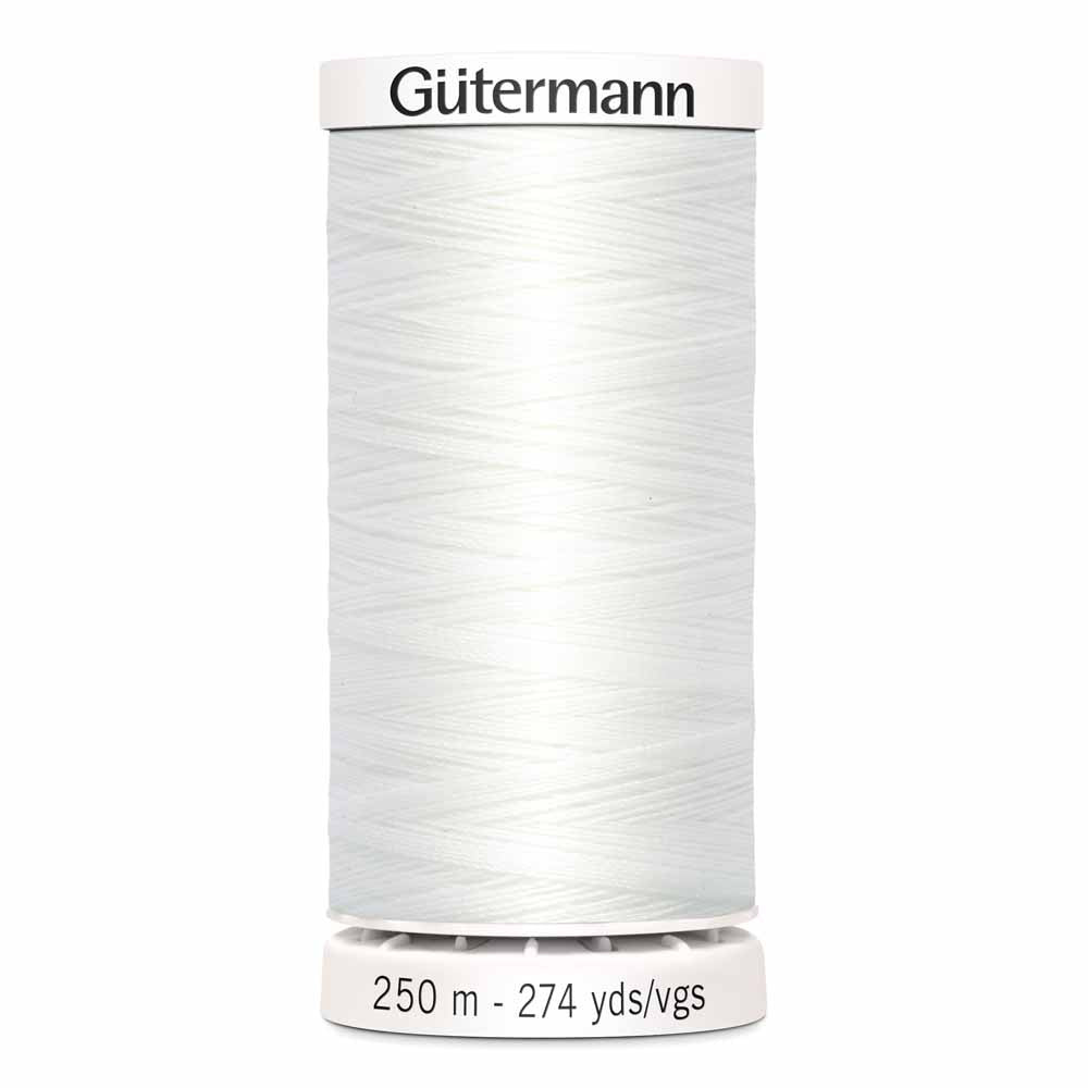 Gütermann Sew-All Thread - 250m - #20 White