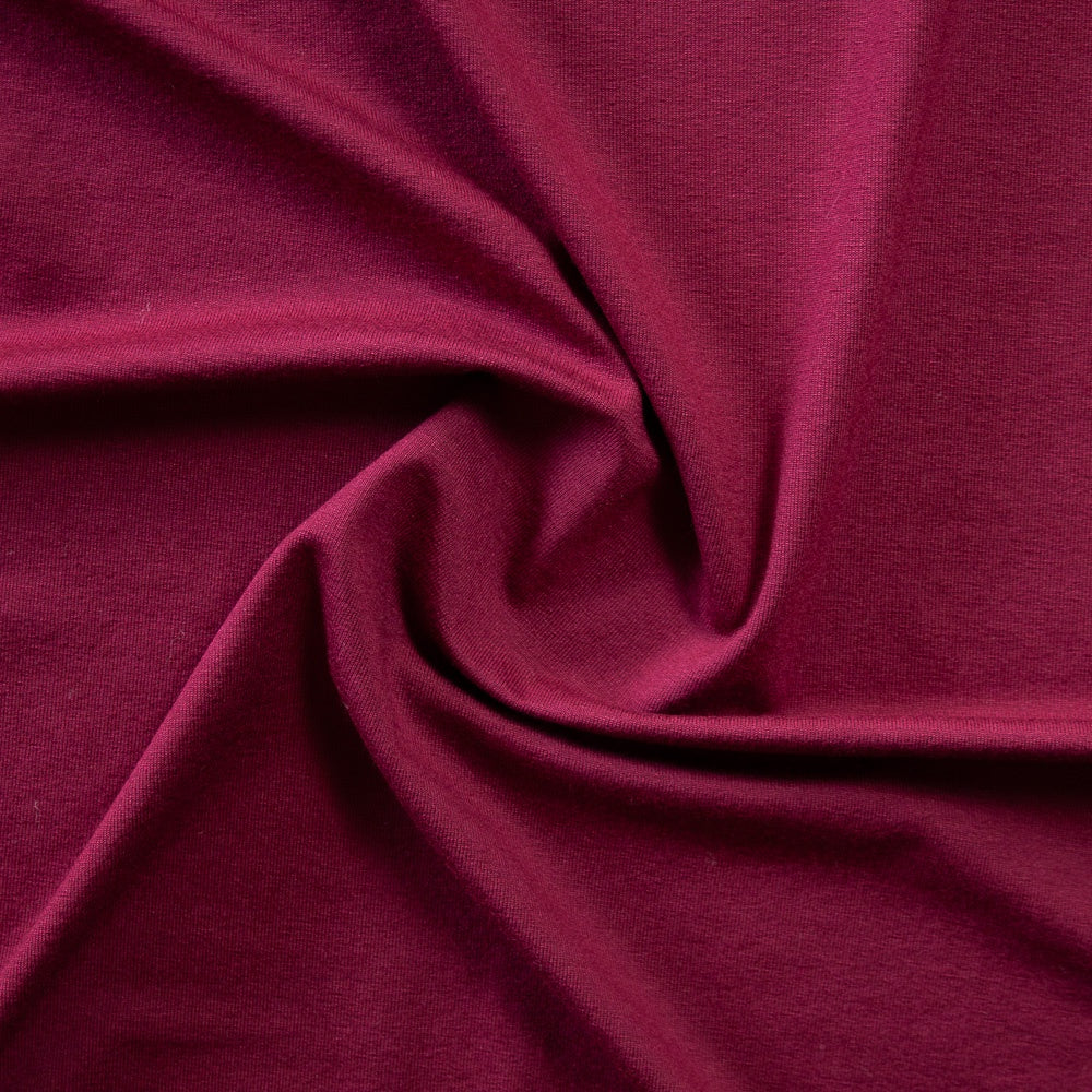 1/2m Viscose Jersey Knit - Raspberry