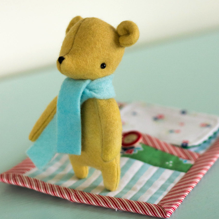 May Blossom - Designs by Simone Gooding - Goodnight Little Bear