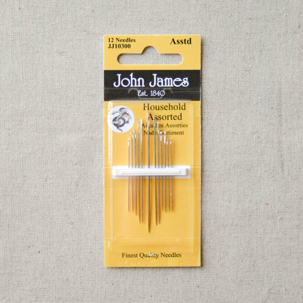 John James Household Assorted Needles