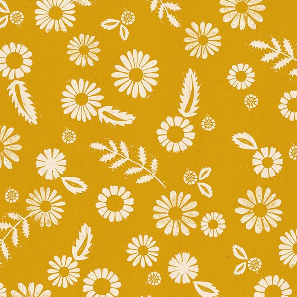 1/2m Rayon - Alexia Abegg - Golden Hour - Daisy - Goldenrod