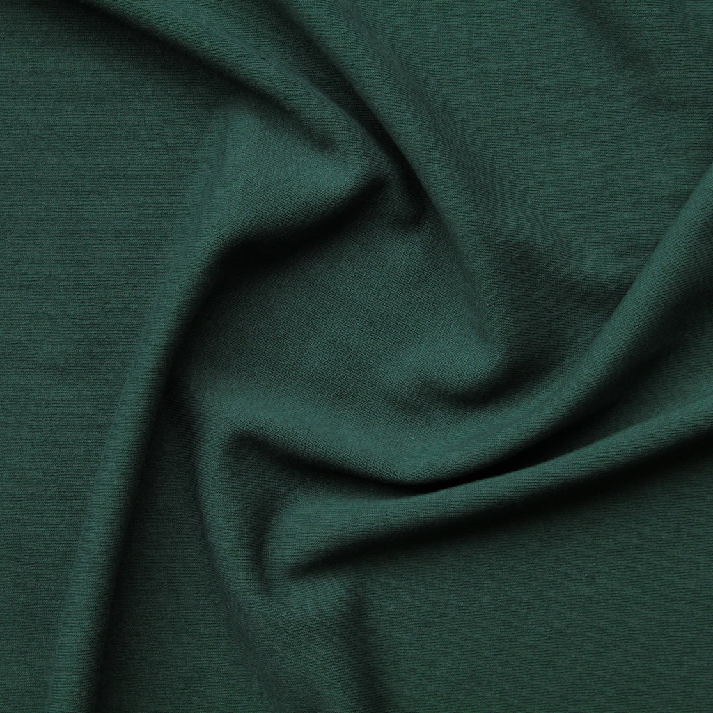 1/2m Bamboo Cotton Fleece - Pine
