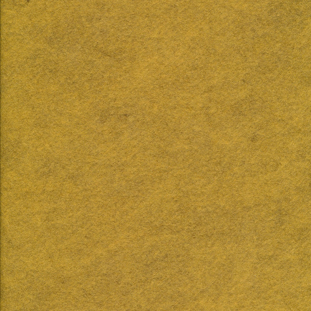 Wool/Rayon Felt - Honey Mustard