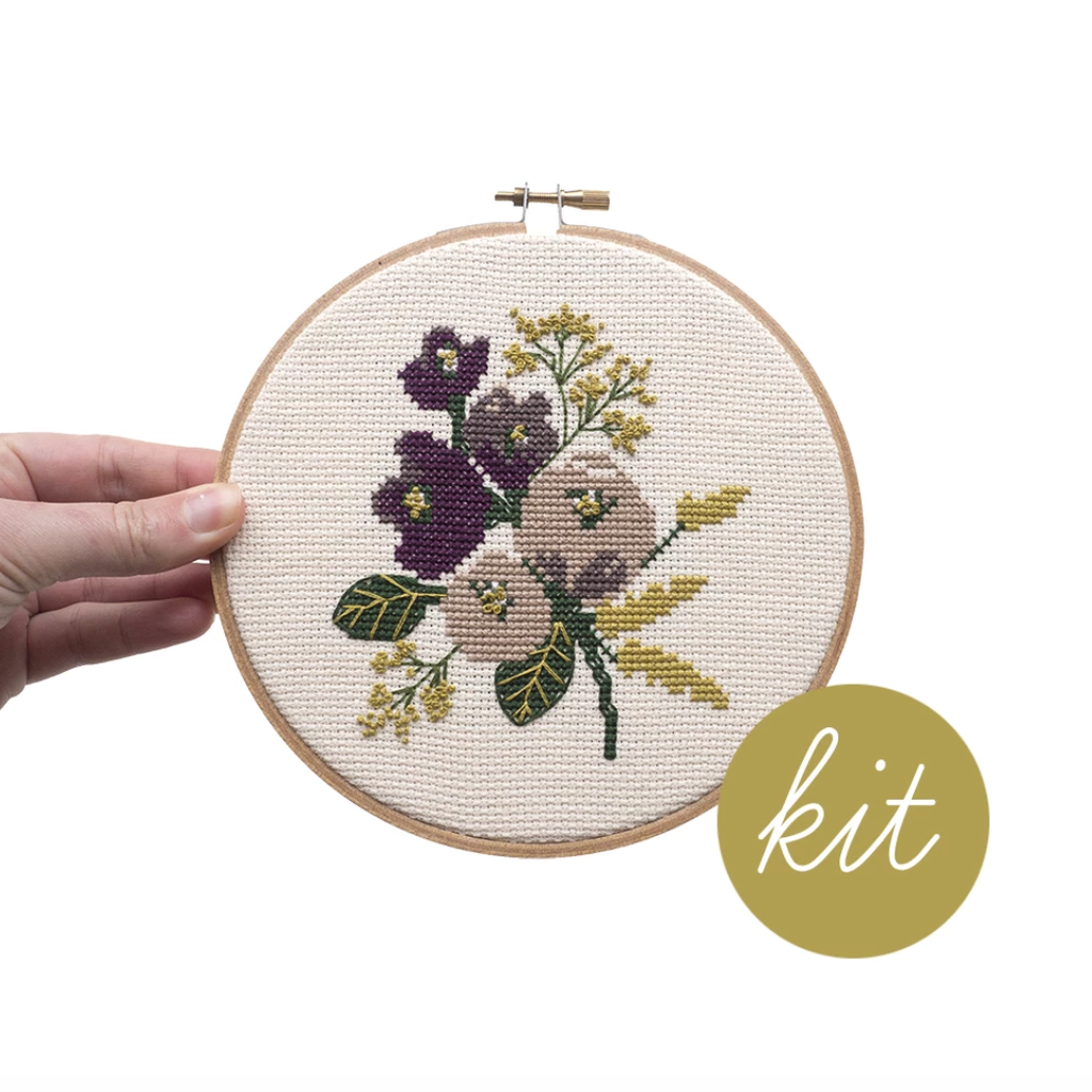 Junebug and Darlin - Amethyst Floral Kit