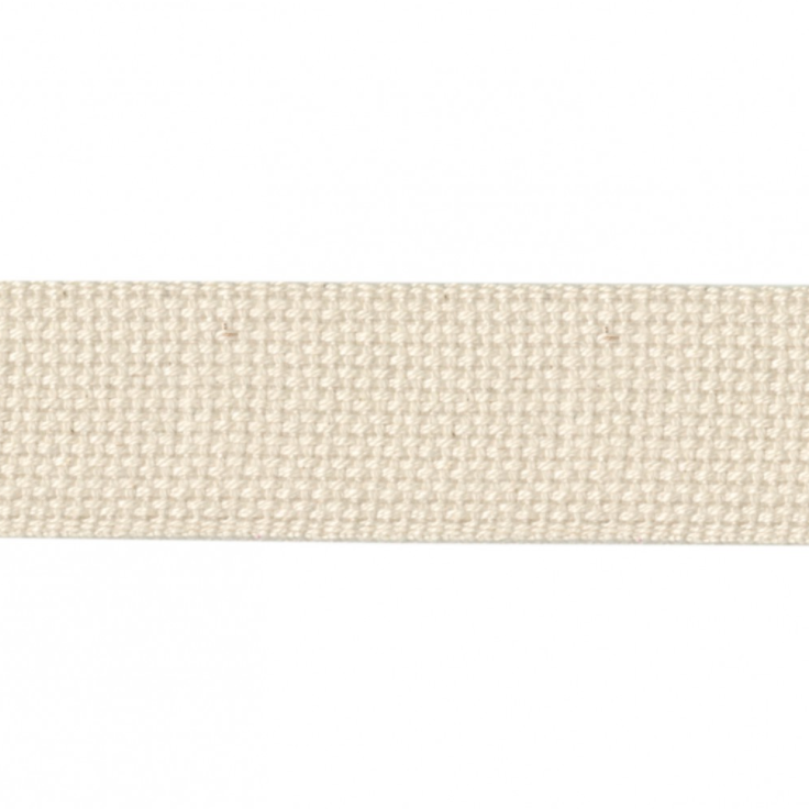 "1.5"" Cotton Webbing - Natural - 1m"