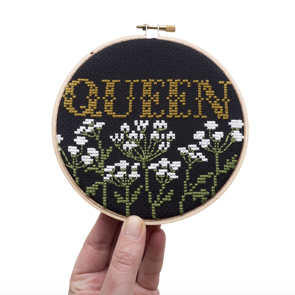 Junebug and Darlin - Queen Cross Stitch Kit