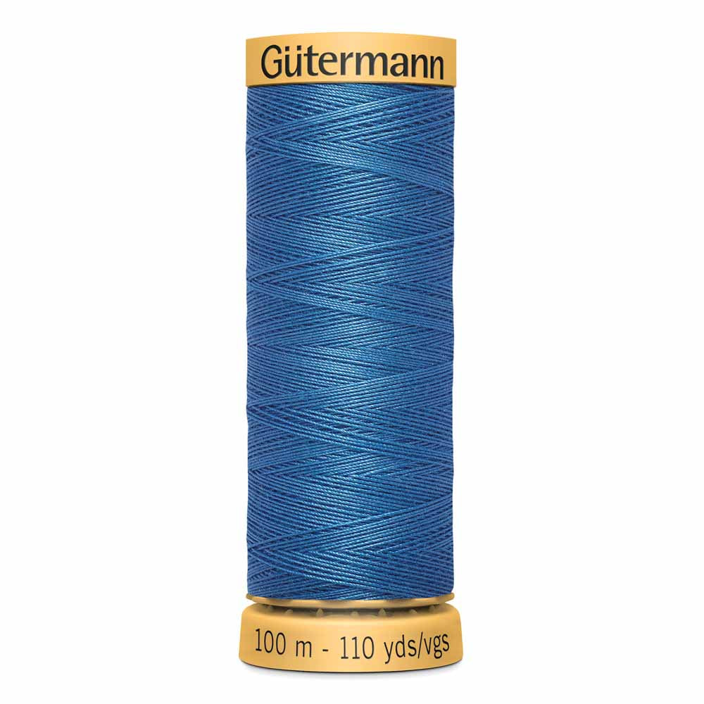 Gütermann Cotton Thread - 100m - #7050 Jay Blue