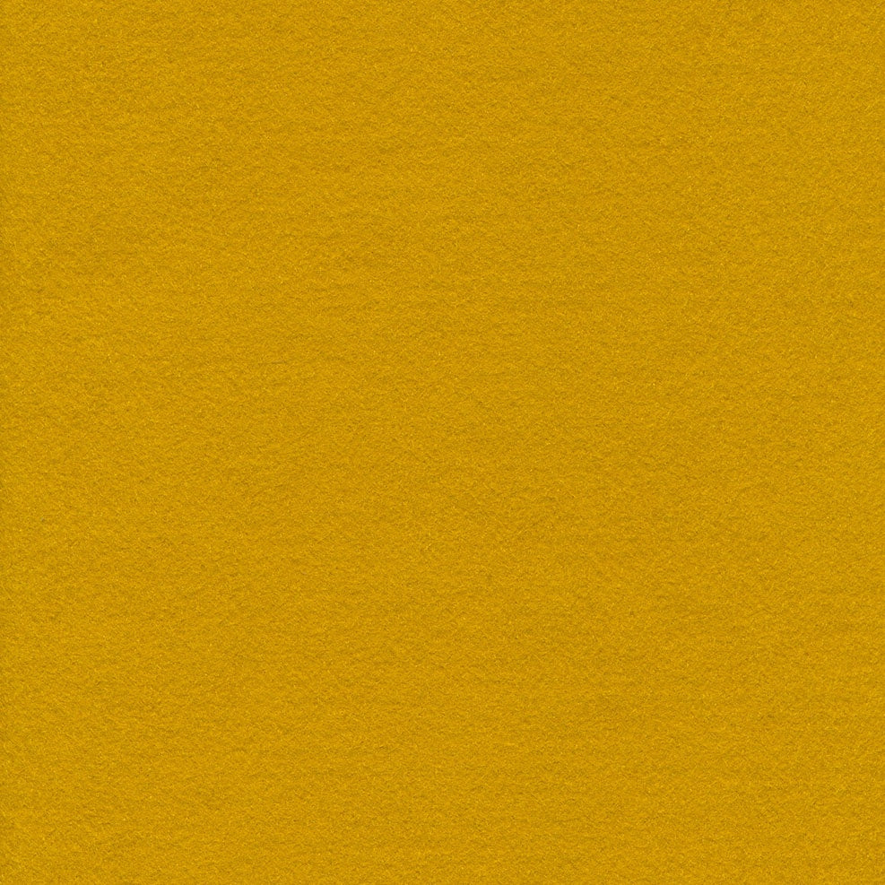 Wool/Rayon Felt - Old Gold