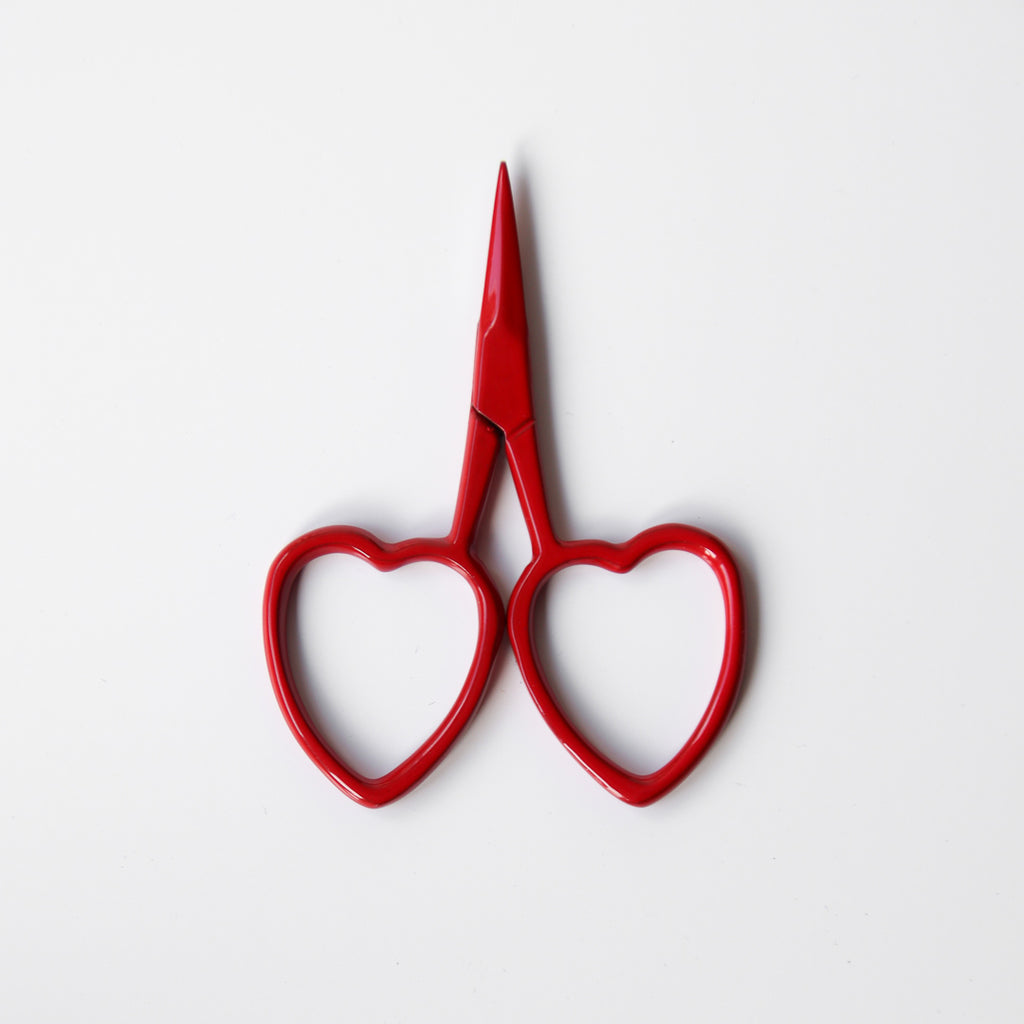 Little Loves Scissors - Red