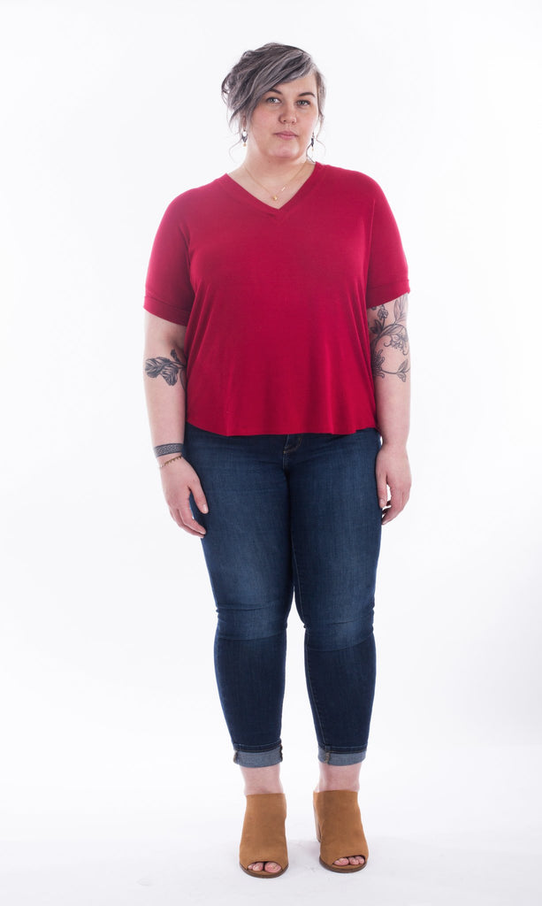 Sew House Seven - The Tabor V-Neck
