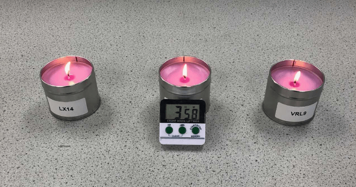 Simple Paraffin Candle - Choosing Wicks