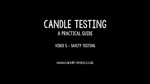 Video 5 - Safety Testing