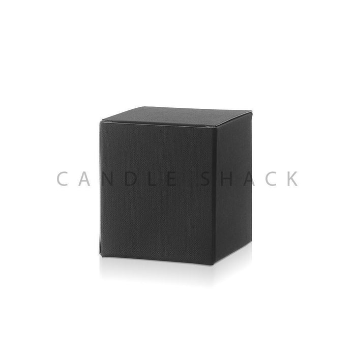 Candle Shack Candle Box Black Laminated Folding Box for 20cl Jars