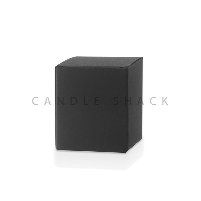 Candle Shack Candle Box Black Laminated Folding Box for 30cl Karen Jars
